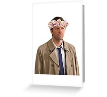 I don't understand why I need to wear the crown Greeting Card