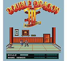 Double Dragon 3 Photographic Print