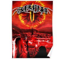 Saruman Heavy Metal Poster