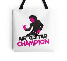 AIR GUITAR CHAMPION Tote Bag