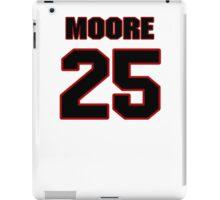 NFL Player William Moore twentyfive 25 iPad Case/Skin