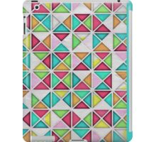 7 DAYS OF SUMMER- TEAL & PINK GEOMETRIC PILLOWS AND TOTES  iPad Case/Skin