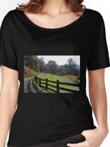 Country fence Women's Relaxed Fit T-Shirt