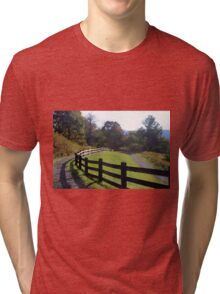 Country fence Tri-blend T-Shirt