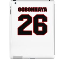 NFL Player Chris Ogbonnaya twentysix 26 iPad Case/Skin