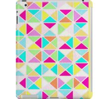 7 DAYS OF SUMMER- YELLOW GEOMETRICA PILLOWS AND TOTES iPad Case/Skin