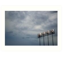 Great Day at the Game Art Print