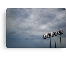 Great Day at the Game Canvas Print