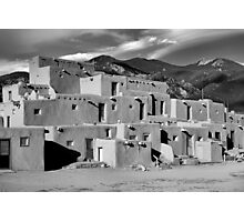 Taos Pueblo North Photographic Print
