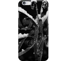 Wet Snow at Night iPhone Case/Skin