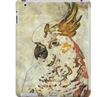 7 DAYS OF SUMMER- ART TOTES AND PILLOWS-BOHO COCKATOO IN TAN iPad Case/Skin