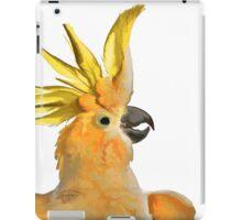 7 DAYS OF SUMMER- ART TOTES AND PILLOWS-COCKATOO OZ ORANGE  iPad Case/Skin