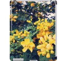 Yellow Flowers iPad Case/Skin