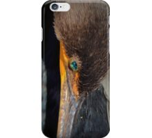 Resting Double-crested Cormorant iPhone Case/Skin
