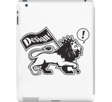 Design Lion Line iPad Case/Skin