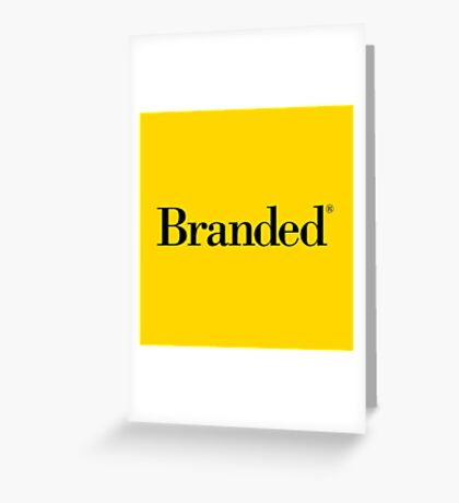 Branded® Greeting Card