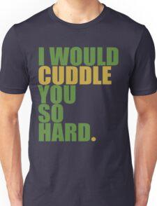 cuddle (must/grn) Unisex T-Shirt