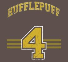 Hufflepuff Away Jersey  by BGWdesigns