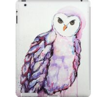 Watercolour Owl iPad Case/Skin