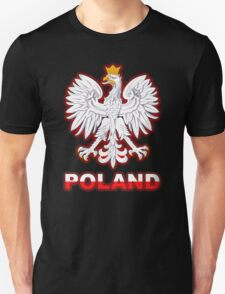 Poland - Polish Coat of Arms - White Eagle T-Shirt