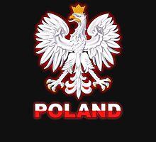 Poland - Polish Coat of Arms - White Eagle T-Shirt