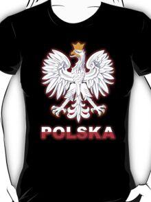 Polska - Polish Coat of Arms - White Eagle T-Shirt