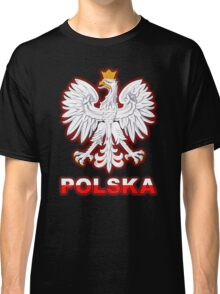 Polska - Polish Coat of Arms - White Eagle Classic T-Shirt