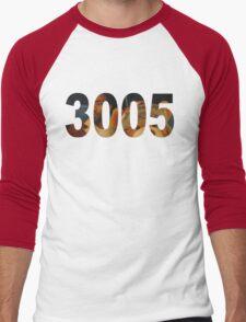 3005 Men's Baseball ¾ T-Shirt