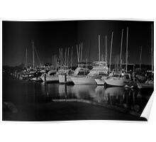 Matilda Bay By Moonlight, W.A. Poster