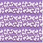Leaf pattern no.2 | Purples by Didi Kasa