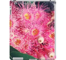 Pink Gum Nut Tree Flowers iPad Case/Skin