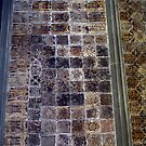 Tiled floor Malvern Priory Greater Malvern England 198405180071 by Fred Mitchell