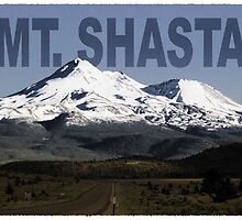 Mt. Shasta Graphic by Dave Stephens