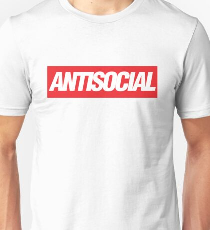 Antisocial {FULL} Unisex T-Shirt