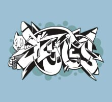 DZYNES Graffiti Cat n Bubbles Kids Clothes