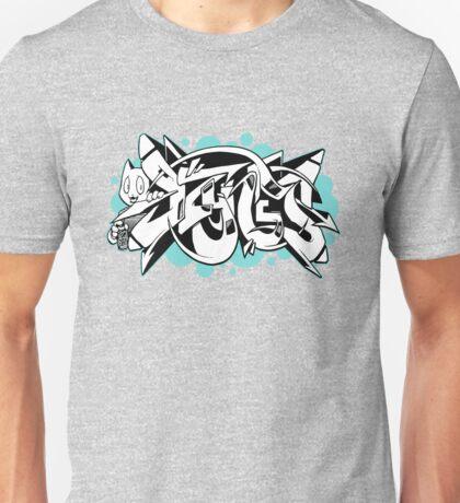 DZYNES Graffiti Cat n Bubbles Unisex T-Shirt