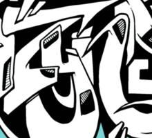 DZYNES Graffiti Cat n Bubbles Sticker