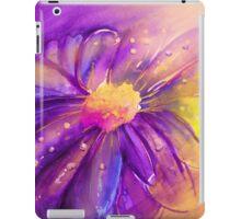 Purple Flower Offering iPad Case/Skin