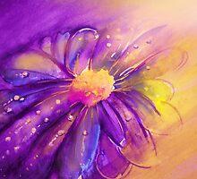 Purple Flower Offering by Allison Ashton