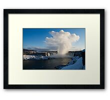 Niagara Falls Makes Its Own Weather Framed Print