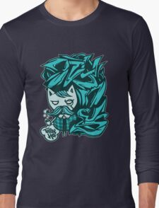 Tally-Ho! Blue Long Sleeve T-Shirt