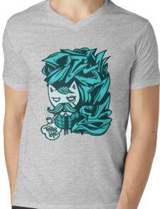 Tally-Ho! Blue Mens V-Neck T-Shirt