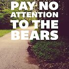 Pay No Attention To The Bears by Livali Wyle