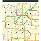 COLORADO MAP by JazzberryBlue