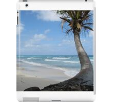 Palm Tree On The Beach iPad Case/Skin