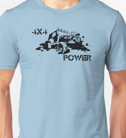 4X4 Power Unisex T-Shirt
