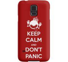 Keep Calm and Don't Panic Samsung Galaxy Case/Skin