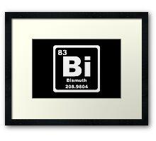 Bi - Periodic Table Framed Print