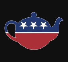 Tea Party - Republican Teapot by graphix