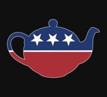 Tea Party - Republican Teapot by graphix